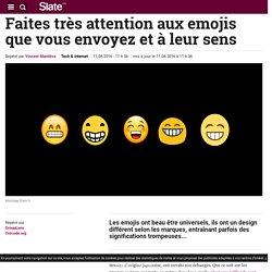 Faites très attention aux emojis que vous envoyez et à leur sens