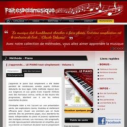 Faitesdelamusique.fr - Site d'accompagnement des méthodes de piano et de clavier par Christophe Astié - Albi