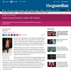 Faith-based fashion takes off online