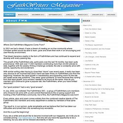FaithWriters Magazine-Christian Magazine and e-zine