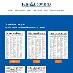 Faits et Documents