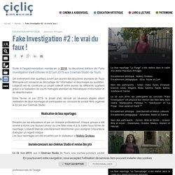 Fake Investigation #2 : le vrai du faux !