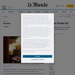 «Fake news»: les risques d'une loi