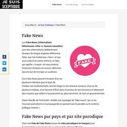 Fake News - Site Parodique