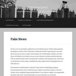 Fake News – Philovernetzt