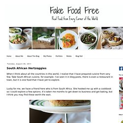 Fake Food Free: South African Hertzoggies