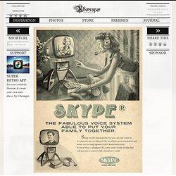 Fake Vintage Tech Posters