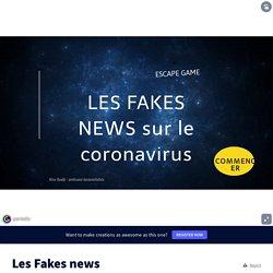 Escape Game : Les Fakes news