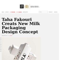 Taha Fakouri Creats New Milk Packaging Design Concept - World Brand Design