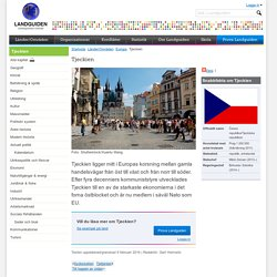Fakta om Tjeckien