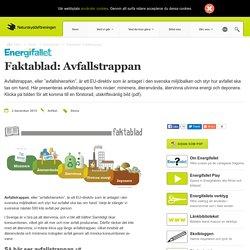 Faktablad: Avfallstrappan