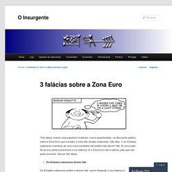3 falácias sobre a Zona Euro