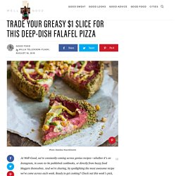 Falafel pizza recipe