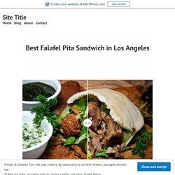 Best Falafel Pita Sandwich in Los Angeles – Site Title