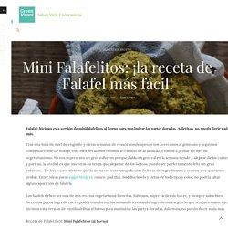 Mini Falafelitos: ¡la receta de Falafel más fácil!
