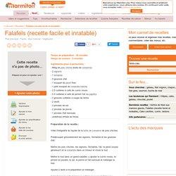 Falafels (recette facile et inratable) : Recette de Falafels (recette facile et inratable)