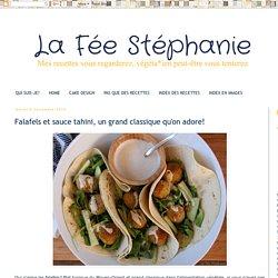 La Fée Stéphanie: Falafels et sauce tahini, un grand classique qu'on adore!