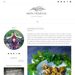 Falafels au four - 100 % Végétal