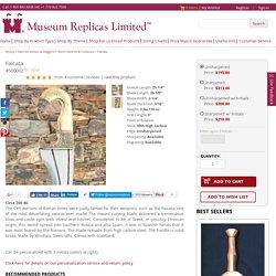 Falcata High Carbon Steel Windlass Roman Sword - Museum Replicas