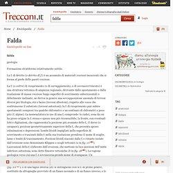 Falda nell'Enciclopedia Treccani