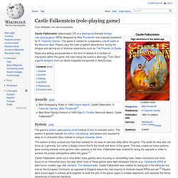 Castle Falkenstein (role-playing game)