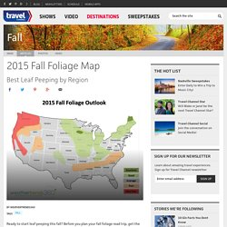 Fall Foliage Map : Travel Channel.com