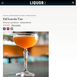 Fall from the Tree Cocktail Recipe