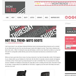 Hot Fall Trend: Moto Boots