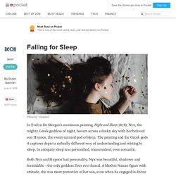 Falling for Sleep - aeon - Pocket