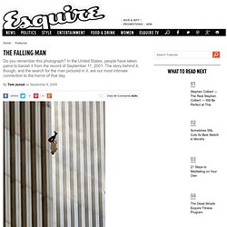 The Falling Man - Tom Junod - 9/11 Suicide Photograph