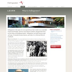 What is Fallingwater?