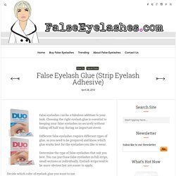 False Eyelash Glue (Strip Eyelash Adhesive)