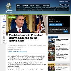 The falsehoods in President Obama's speech on the Islamic State