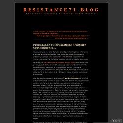 Propagande et falsification: l'Histoire sous influence