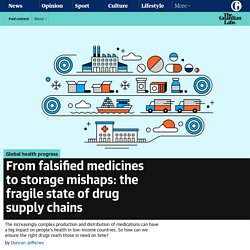From falsified medicines to storage mishaps: the fragile state of drug supply chains