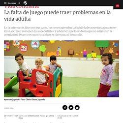 La falta de juego puede traer problemas en la vida adulta - Clarín