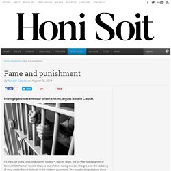 Fame and punishment – Honi Soit