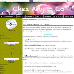 Classeur Edit - ady & co