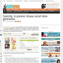 Famicity, le premier réseau social inter-génération