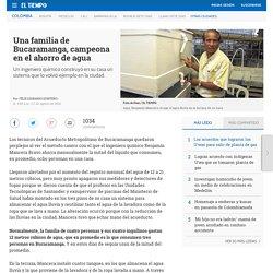 Familia de Bucaramanga inventa sistema para el ahorro de agua - Otras ciudades