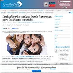 La familia y los amigos, lo más importante para los jóvenes españoles