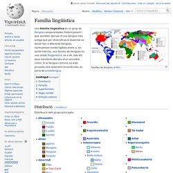 Família lingüística