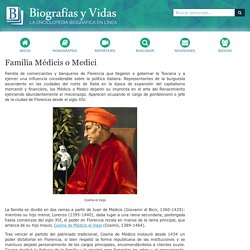 Familia Médicis o Medici