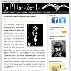 La familia de Pascual Duarte de Camilo José Cela – La Milana Bonita