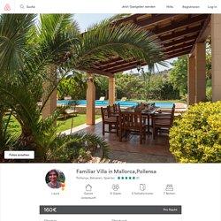 Familiar Villa in Mallorca,Pollensa - Villen zur Miete in Pollença