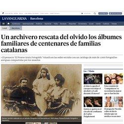Un archivero rescata del olvido los álbumes familiares de centenares de familias catalanas