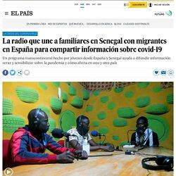 La radio que une a familiares en Senegal con migrantes en España para compartir información sobre covid-19