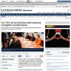 Un 10% de las familias sufre pobreza energética en Barcelona