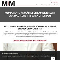 Familienrecht aus Bad Ischl im Bezirk Bezirk Gmunden