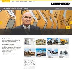 Internationale Firmengruppe & Familienunternehmen - Liebherr